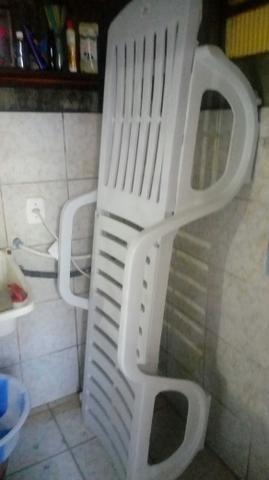 Cadeira de piscina usada 1x