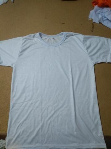 Vendo camisas 100% poliéster, para sublimação - Foto 2