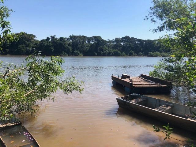 Chacara em Sto Antonio Leverger 110metros de Beira de Rio C/Tanque de Peixes Arvores Fruti - Foto 6