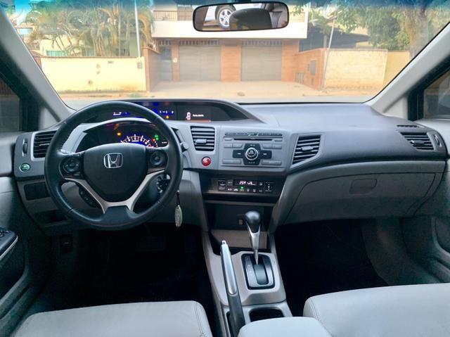 Civic LXR 2.0 2014, câmbio automático e bancos em couro(preço melhor para venda) - Foto 7