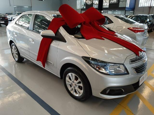 Chevrolet 2016 prisma 1.4 ltz Automatico Flex prata completo mylink 2016 - Foto 5