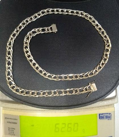 Vendo corrente de prata - Foto 2