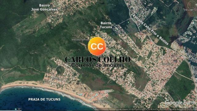 LCód: 103 Terreno no Bairro Tucuns em Armação dos Búzios