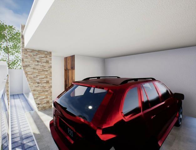 Casa nova 3suítes churrasqueira ofurô rua 10 Vicente Pires condomínio fechado - Foto 3