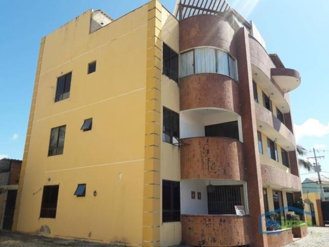 Cobertura com 4 dormitórios para alugar, 200 m²- pitangueiras - lauro de freitas/ba