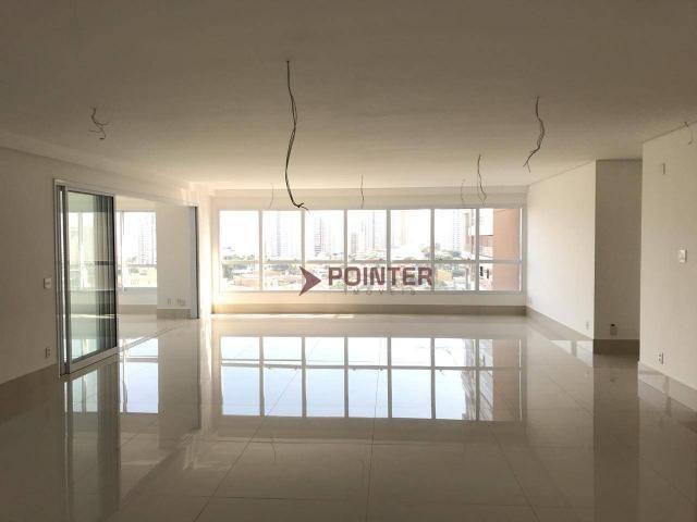 Apartamento 4 suítes com 5 vagas de garagem no setor marista goiânia - go. - Foto 3