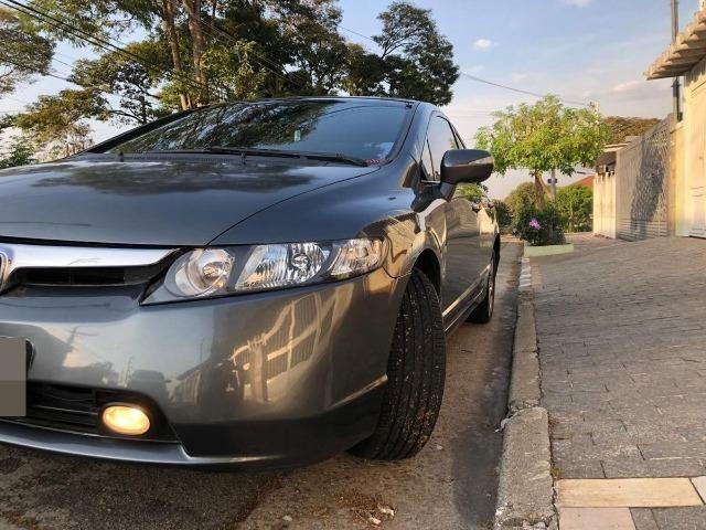 Honda Civic 1.8 Lxs Flex 4p - Foto 3