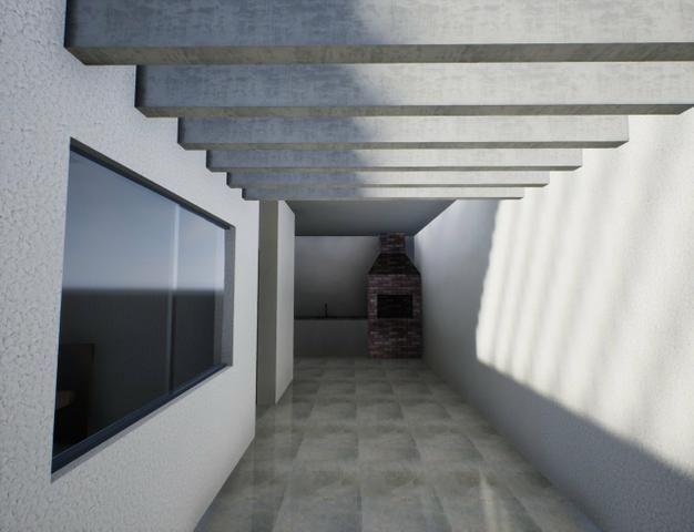 Casa nova 3suítes churrasqueira ofurô rua 10 Vicente Pires condomínio fechado - Foto 8