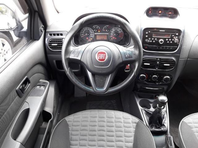 Fiat Strada Adventure 1.8 Flex Cabine Dupla Completa impecavel Baixo KM - Foto 10