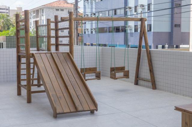Apartamento 3 quartos com varanda na Jatiúca - Foto 3