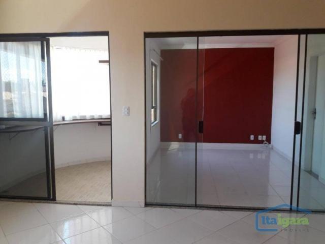 Cobertura com 4 dormitórios para alugar, 200 m²- pitangueiras - lauro de freitas/ba - Foto 5