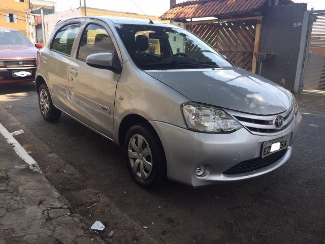 Toyota Etios 1.3 X 16V Flex Completo Baixa Km Unico Dono - Foto 4