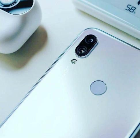 Celular Xiaomi Redmi Note 7 64GB Versão Global Vermelho e Branco