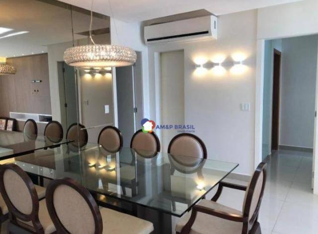 Apartamento com 2 dormitórios à venda, 105 m² por R$ 495.000,00 - Setor Bueno - Goiânia/GO - Foto 3