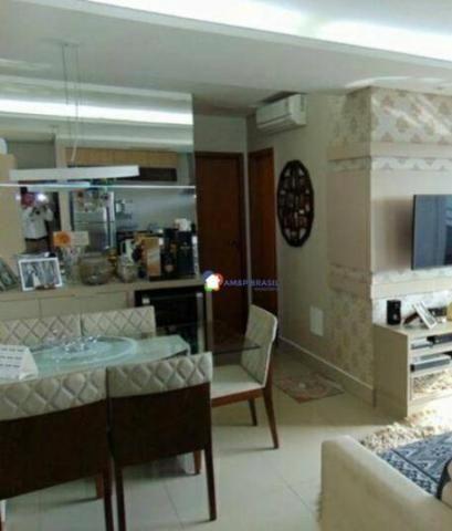 Apartamento com 2 dormitórios à venda, 69 m² por r$ 250.000,00 - parque amazônia - goiânia - Foto 6