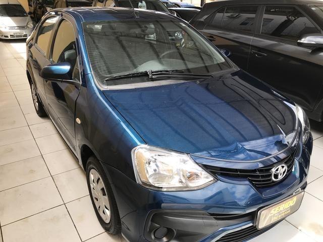 Toyota Etios Sedan XS 1.5 automático único dono! - Foto 2