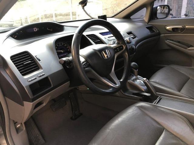 Honda Civic 1.8 Lxs Flex 4p - Foto 8