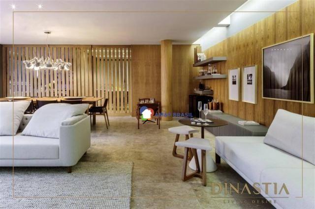 Apartamento com 4 dormitórios à venda, 326 m² por r$ 2.190.000,00 - setor marista - goiâni