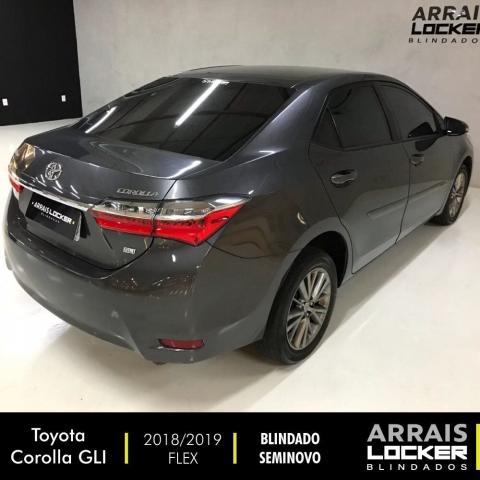 Toyota corolla 2018/2019 1.8 gli upper 16v flex BLINDADO - Foto 6