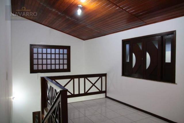 Casa com 4 dormitórios à venda, 184 m² por r$ 690.000 - stella maris - salvador/ba - Foto 13