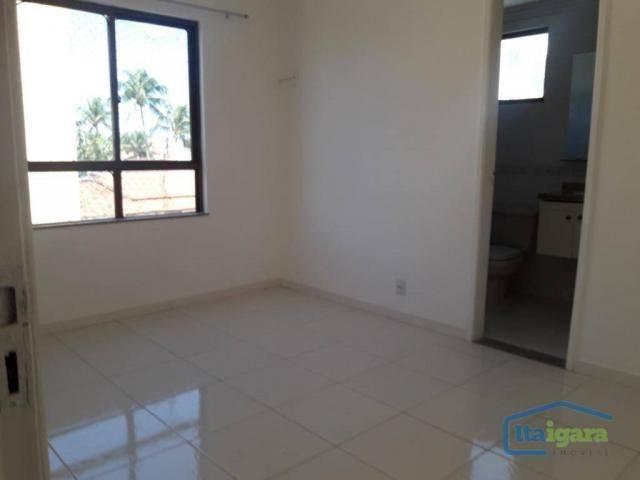 Cobertura com 4 dormitórios para alugar, 200 m²- pitangueiras - lauro de freitas/ba - Foto 11