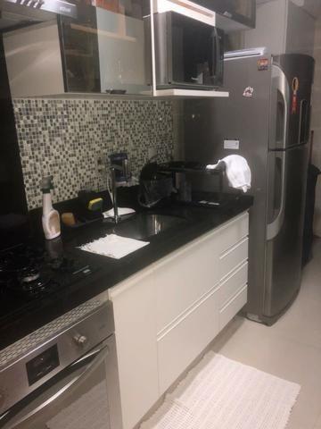 Vendo apartamento no Bueno, mobiliado, 3q com suite valor 310mil - Foto 6