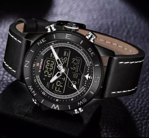 f1b06dd78ee Relógio de luxo naviforce entrega grátis - Bijouterias
