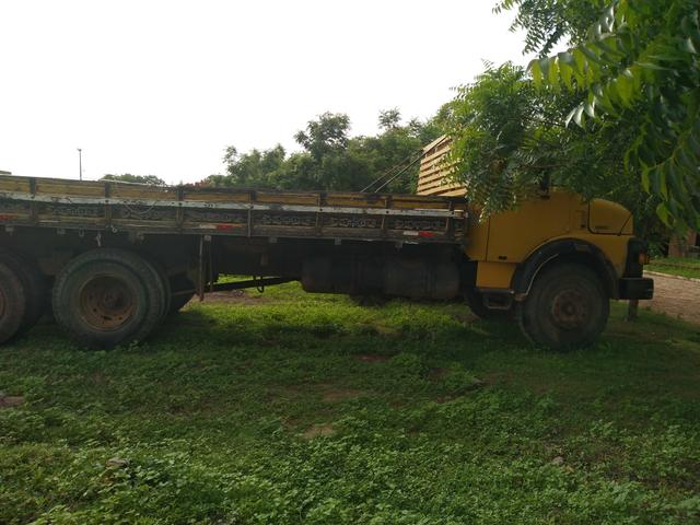 Vendo caminhão ou troco trucado 1113 turbinado