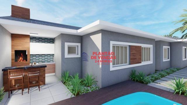 Ótimas casas lineares 3 quartos (opção de piscina e deck) - Enseada das Gaivotas - Rio das