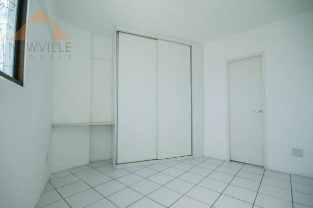 Apartamento com 3 quartos para alugar, 94 m² por R$ 3.785/mês - Boa Viagem - Recife/PE - Foto 14