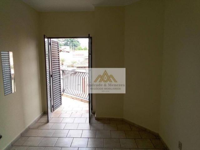 Apartamento com 3 dormitórios para alugar, 89 m² por R$ 1.050/mês - Vila Tibério - Ribeirã - Foto 7