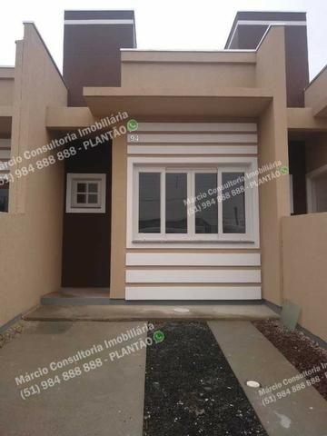 Excelentes Casas 2 Dormitórios 2 Vaga Gravataí Bom Sucesso Documentação Gratuita!!
