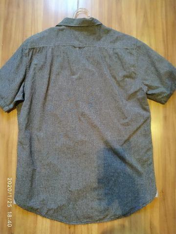 Camisa de botão Importada Billabong Tamanho XL - Foto 5