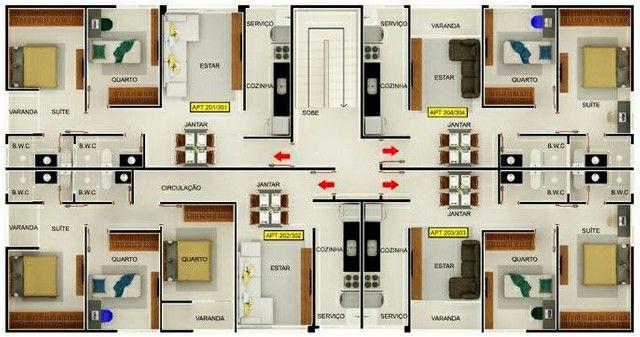 Vendo apartamento no Bessa 2 Quartos - Foto 3