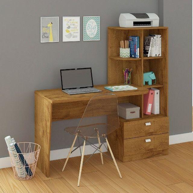 Mesa de computador Elisa | Pronta entrega e frete grátis ES - Foto 4
