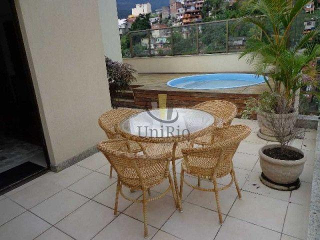 Cod: FRCO30031 - Cobertura 164 m², 3 quartos, 1 suíte, Freedom - Freguesia - RJ - Foto 2