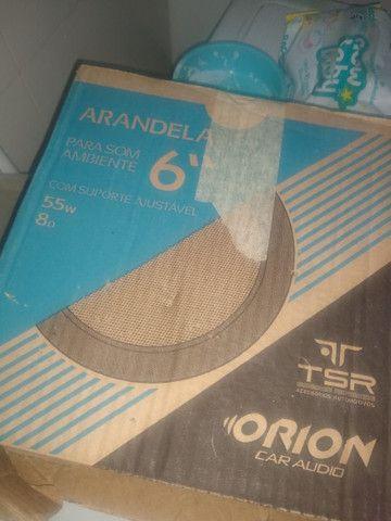 Arandela Quadrada 6p 55w 8r Branca Quad1 Orion 2 unidades - Foto 3