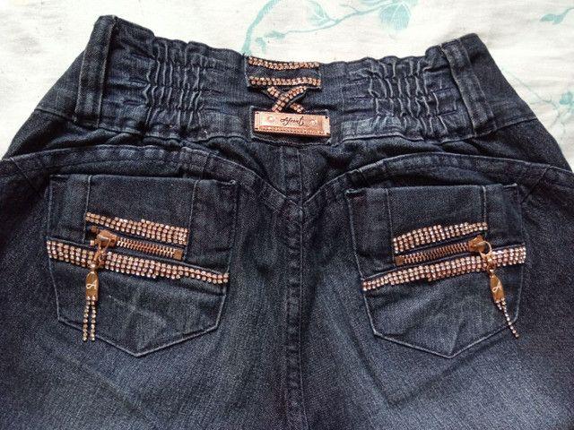 Calça jeans Afront Nova - Foto 3
