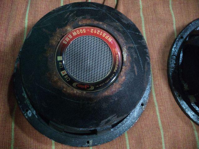 2 alto falante de 12 de 500 RMS estão funcionando perfeitamente - Foto 3