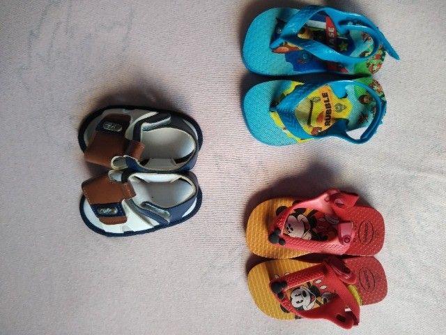 Sapatinhos e Sandálias para bebê até 1 ano e 6 meses - Foto 4