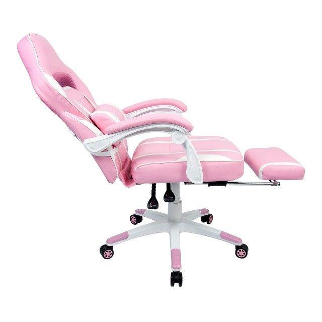 Mega Oferta KIT Cadeira Gamer reclinável e Mesa Gamer  com Garantia e Com Entrega Grátis   - Foto 5