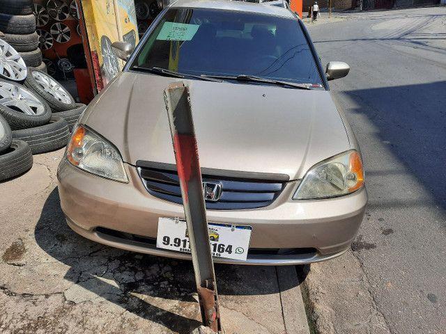 Honda Civic 1.7 automático ano 2002 - Foto 6