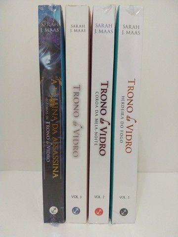 livros trono de vidro - Foto 2