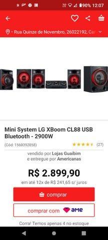 Vendo som LG Cl 88 - Foto 2