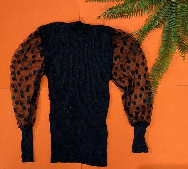 Blusa em tricot - Foto 6