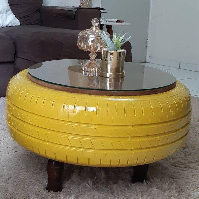 Lindas mesas de centro para sua sala - Foto 4