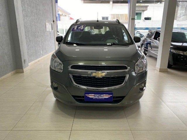 Chevrolet Spin Lt 1.8 Automática 2014 Cinza