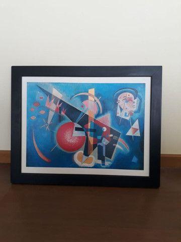 2 quadros decorativos abstratos 67cm x 53cm cada - Foto 3