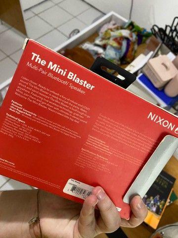 Caixinha de som NIXON bluetooth em perfeito estado!!  - Foto 2