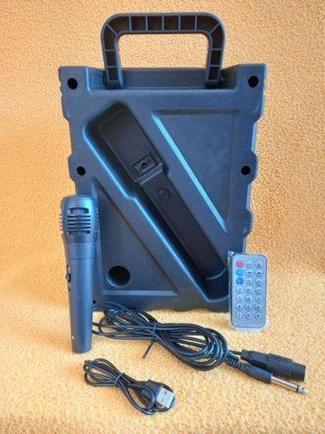 Caixa de som 1000Watts + controle + microfone(Entregamos no mesmo dia) - Foto 3